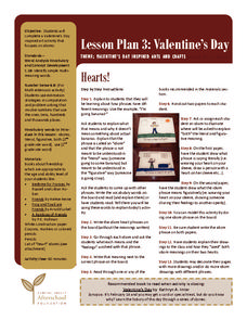 Hearts Lesson Plan