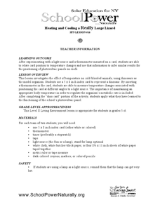 Heating and Cooling a Really Large Lizard Lesson Plan