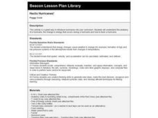 Hectic Hurricanes! Lesson Plan