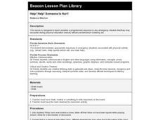 HELP! HELP! SOMEONE IS HURT! Lesson Plan