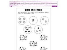Help the Frogs Worksheet