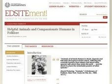 Helpful Animals and Compassionate Humans in Folklore Lesson Plan