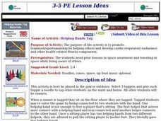 Helping Hands Tag Lesson Plan