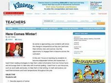 Here Comes Winter! Lesson Plan