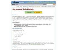 Heroes and Role Models Lesson Plan