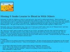 Hissing Snake Learns to Blend in With Others Lesson Plan