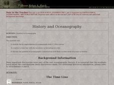 History and Oceanography Lesson Plan