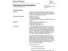 History: Impact of the Lewis and Clark Expedition Lesson Plan