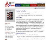 History in Quilts Lesson Plan