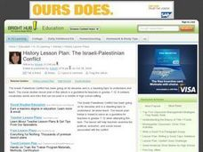 History Lesson Plan: The Israeli-Palestinian Conflict Lesson Plan