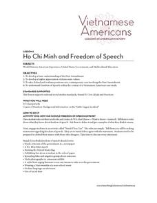 Ho Chi Minh and Freedom of Speech Lesson Plan