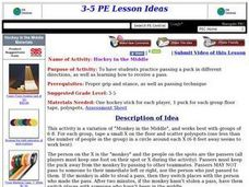 Hockey in the Middle Lesson Plan