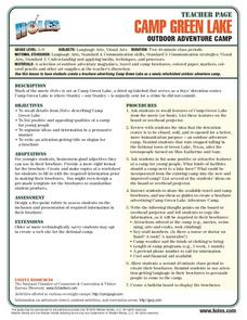 Holes-Outdoor Adventure Camp Lesson Plan