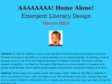 Home Alone! Lesson Plan