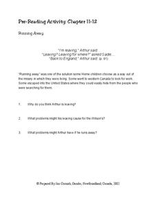 Home Child Chapter 11-12 Worksheet
