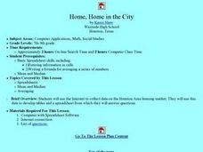 Home, Home in the City Lesson Plan