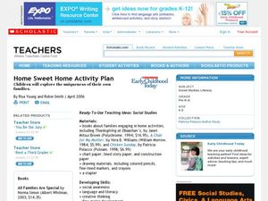 Home Sweet Home Activity Plan Lesson Plan