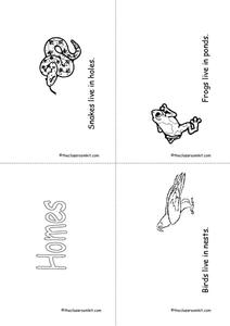 Homes Printables & Template