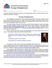 essay on the age of enlightenment