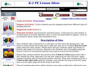 Hoop Jumper Lesson Plan