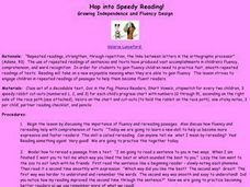 Hop into Speedy Reading! Lesson Plan