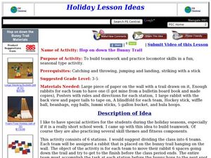 Hop on Down the Bunny Trail Lesson Plan