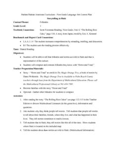 Horse and Toad Lesson Plan