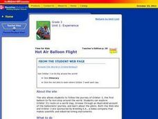Hot Air Balloon Flight Lesson Plan