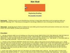 Hot Rod Lesson Plan