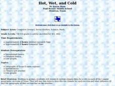 Hot, Wet, and Cold Lesson Plan