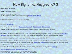 How Big is the Playground: Creating a Map Lesson Plan