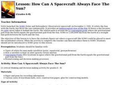 How Can a Spacecraft Always Face the Sun? Lesson Plan