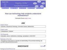 How Can Technology Help Students Understand Mathematics? Lesson Plan