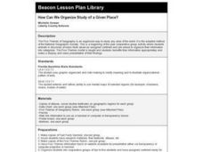 How Can We Organize Study of a Given Place? Lesson Plan