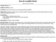 How Do Landfills Work? Lesson Plan