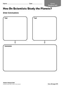 How Do Scientists Study the Planets? Worksheet