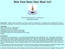How Fast Does Your Boat Go? Lesson Plan