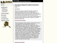 How History Shaped the Alaska Constitution Lesson Plan
