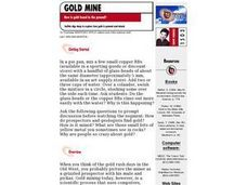 How is Gold Found in the Ground? Lesson Plan