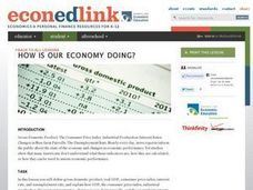 How Is Our Economy Doing? Lesson Plan