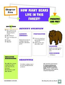 HOW MANY BEARS  LIVE IN THIS  FOREST? Lesson Plan