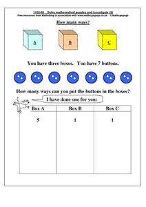 How Many Ways? Worksheet