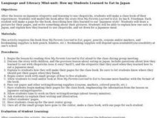 How My Students Learned To Eat in Japan Lesson Plan