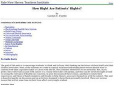 How Right Are Patients' Rights? Lesson Plan