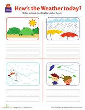 How's the Weather Today? Worksheet