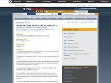 How Secure is Social Security? Lesson Plan