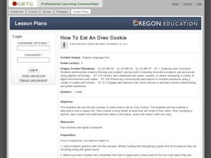 How To Eat an Oreo Cookie Lesson Plan