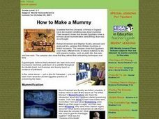 How To Make a Mummy Lesson Plan