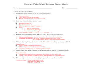 lectures coursework worksheets calculus