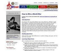 How to Win a World War Lesson Plan
